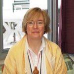 Event moderator Mary Condren